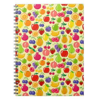 Fruit Notebooks
