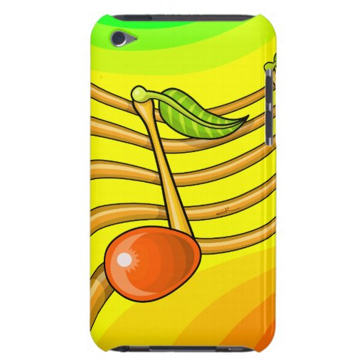 Fruit notes iPod touch cases