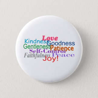 Fruit of the Spirit 6 Cm Round Badge