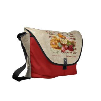 Fruit of the Spirit Bible Christian Messenger Courier Bags
