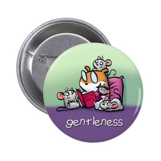 Fruit of the Spirit Button Badge (Gentleness)