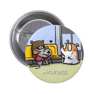Fruit of the Spirit Button Badge (Kindness)