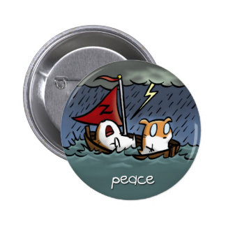 Fruit of the Spirit Button Badge (Peace)