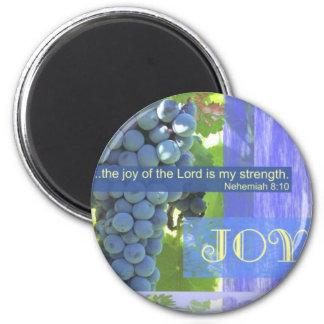 Fruit of the Spirit joy 6 Cm Round Magnet