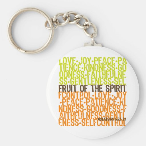 Fruit of the Spirit Key Chain