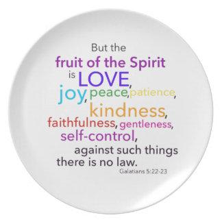 Fruit of the Spirit Plate