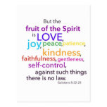 Fruit of the Spirit Postcard