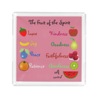 Fruit of the Spirit small serving tray