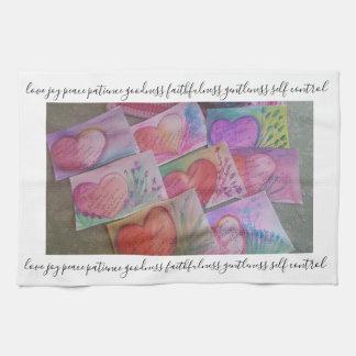 fruit of the spirit. tea towel