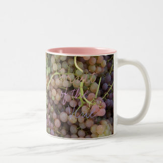 FRUIT of the VINE by SHARON SHARPE Two-Tone Mug