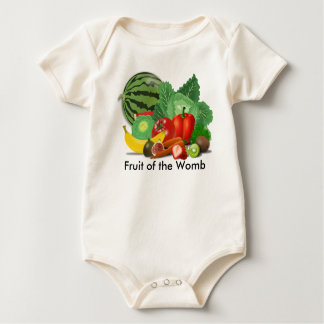 Fruit of the Womb Organic Baby Clothing Bodysuit