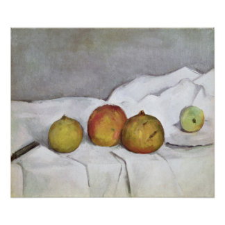 Fruit on a Cloth, c.1890 Poster