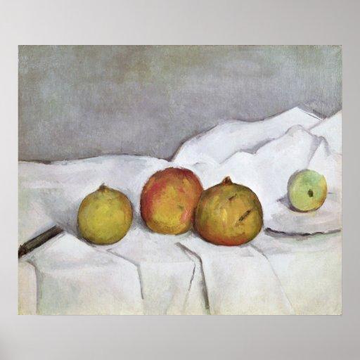 Fruit on a Cloth, c.1890 Print