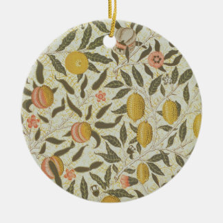 Fruit or Pomegranate wallpaper design Christmas Ornament