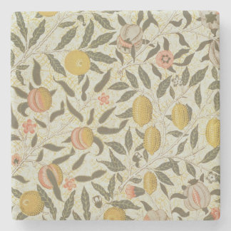 Fruit or Pomegranate wallpaper design Stone Coaster