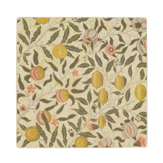 Fruit or Pomegranate wallpaper design Wood Coaster