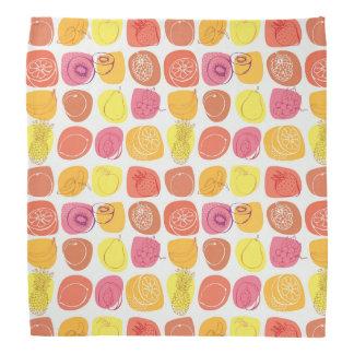 Fruit pattern bandana