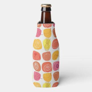 Fruit pattern bottle cooler