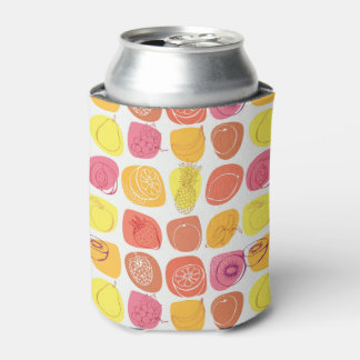 Fruit pattern can cooler