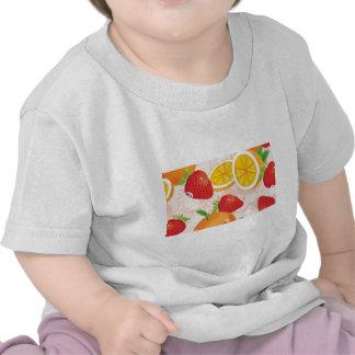 Fruit pattern shirt