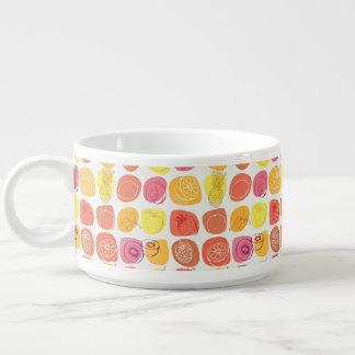 Fruit pattern chili bowl