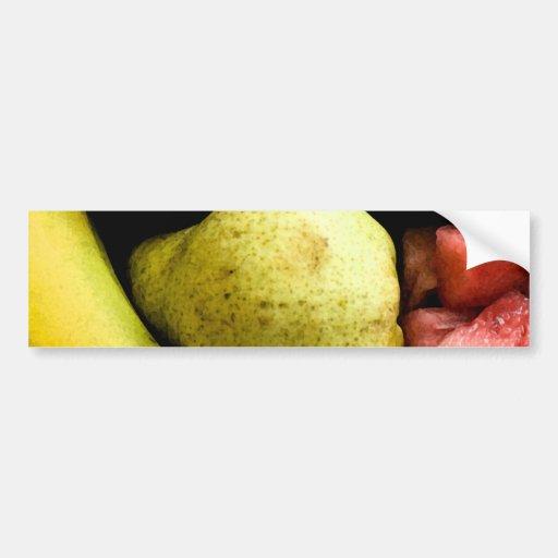 Fruit Pile Bumper Stickers