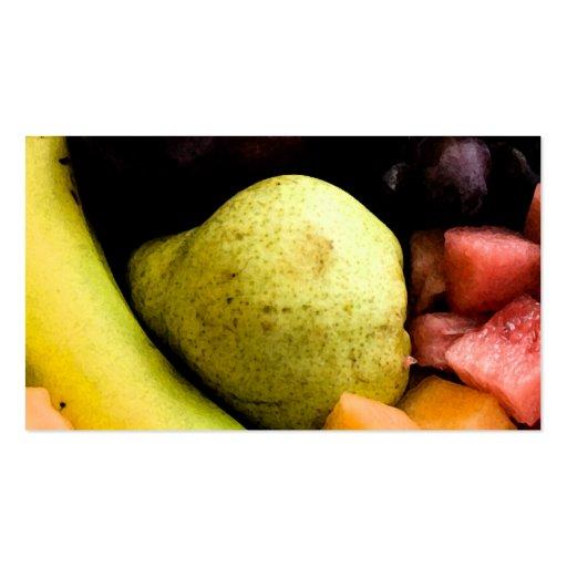 Fruit Pile Business Card Templates