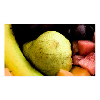 Fruit Pile Pack Of Standard Business Cards