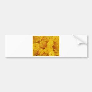 Fruit Pineapple Yellow Sweet Dessert Destiny Food Bumper Sticker