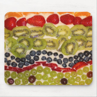 Fruit Pizza Close-up Photo Mouse Mat