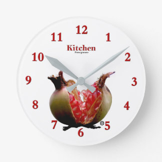 Fruit Pomegranate Modern Wall Clock Gift .....!!!