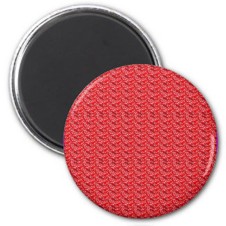 Fruit Red Seed Texture DIY Template add text image 6 Cm Round Magnet