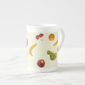 Fruit Salad Bone China Mug Tea Cup