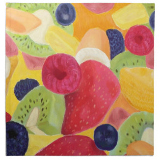 Fruit Salad Cloth Napkins
