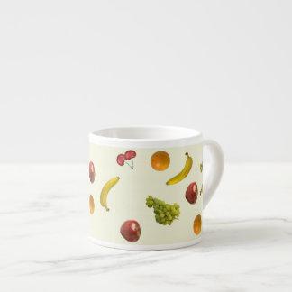 Fruit Salad Espresso Mug 6 Oz Ceramic Espresso Cup