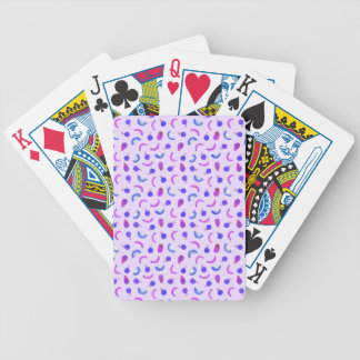 Fruit Salad in Purple Bicycle Playing Cards
