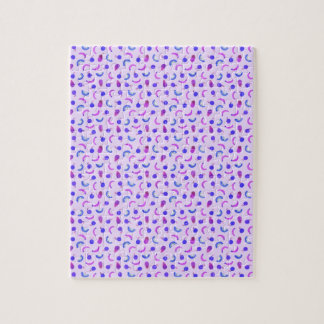 Fruit Salad in Purple Jigsaw Puzzle