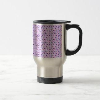 Fruit Salad in Purple Travel Mug