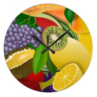 Fruit Salad Wallclocks