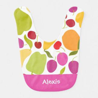 Fruit Salad Baby Bib