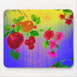 Fruit Scene Purple Mouse Pad