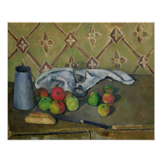 Fruit, Serviette and Milk Jug, c.1879-82 Poster