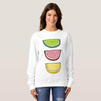 Fruit Slice Jellies Gummy Citrus Passover Candy Sweatshirt