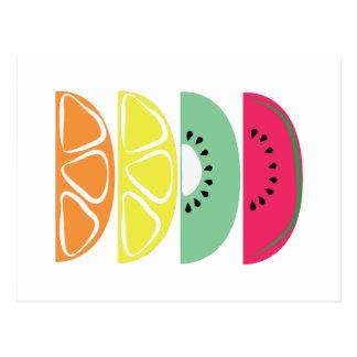 Fruit Slices Postcard