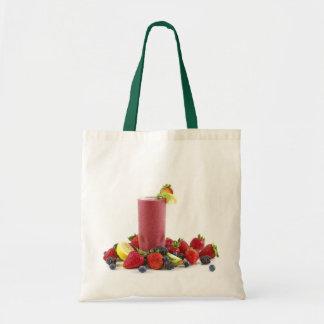 fruit smoothie tote bag