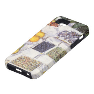 Fruit Stand by Gustave Caillebotte, Vintage Art iPhone 5 Case