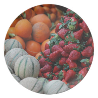 Fruit stand plate