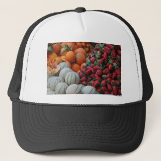 Fruit stand trucker hat