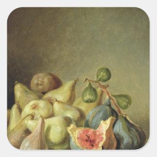 Fruit Still Life Square Sticker
