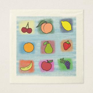 Fruit Surprise Disposable Serviette